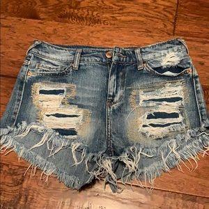 Target jean shorts